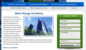 Baton Rouge Architects